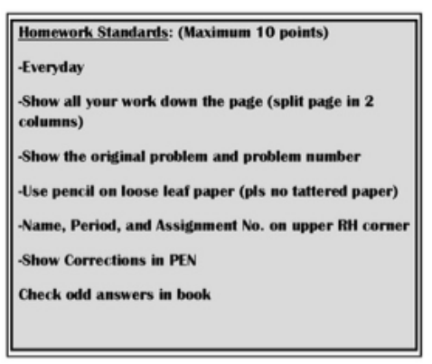 creation story assignments
